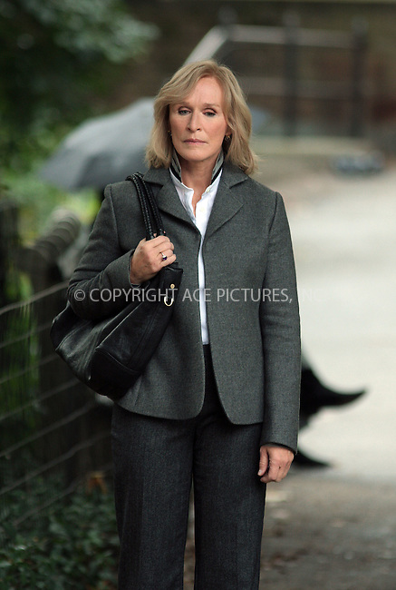 WWW.ACEPIXS.COM . . . . .  ....October 9 2009, New York City....Actress Glenn Close on the set of the TV show 'Damages' on October 9 2009 in New York City....Please byline: AJ Sokalner - ACEPIXS.COM.... *** ***..Ace Pictures, Inc:  ..(212) 243-8787 or (646) 769 0430..e-mail: picturedesk@acepixs.com..web: http://www.acepixs.com