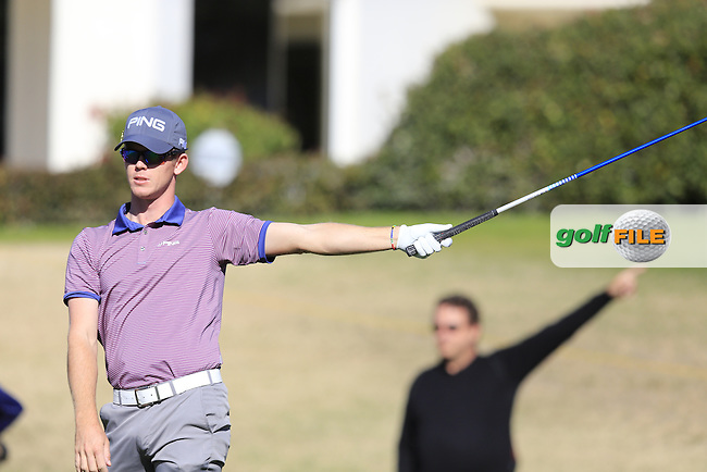 Brandon Stone (RSA) tees off the 2nd tee during Saturday's Round 3 of the 2017 CareerBuilder Challenge held at PGA West, La Quinta, Palm Springs, California, USA.<br /> 21st January 2017.<br /> Picture: Eoin Clarke | Golffile<br /> <br /> <br /> All photos usage must carry mandatory copyright credit (&copy; Golffile | Eoin Clarke)