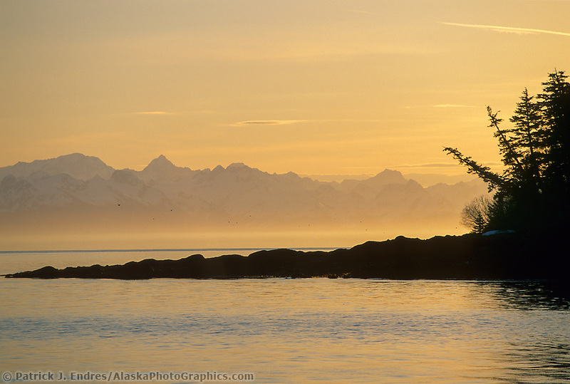 Hinchenbrook Island, Chugach mountains, Prince William Sound, Alaska