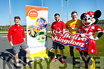 The Active kingdom which was launched on Thursday at John Mitchels GAA ground,Camp,Ballyseedy Tralee in association with Enable Ireland Kerry Branch and the help of Mini Mouse, L-r:Sean Flynn and JT Deenihan (Active Kingdom, SeanScally (Enable Ireland)