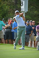 Jason Day (AUS) watches his tee shot on 13 during 1st round of the World Golf Championships - Bridgestone Invitational, at the Firestone Country Club, Akron, Ohio. 8/2/2018.<br /> Picture: Golffile   Ken Murray<br /> <br /> <br /> All photo usage must carry mandatory copyright credit (© Golffile   Ken Murray)