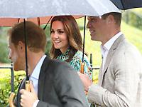 AUG 30 Royals visit the Princess Diana memorial garden