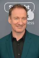 David Thewlis &amp; Guest at the 23rd Annual Critics' Choice Awards at Barker Hangar, Santa Monica, USA 11 Jan. 2018<br /> Picture: Paul Smith/Featureflash/SilverHub 0208 004 5359 sales@silverhubmedia.com