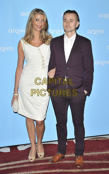 LONDON, ENGLAND - JULY 03: Sarah Champion &amp; Pete Donaldson attend the Arqiva Commercial Radio Awards 2014, Westminster Bridge Hotel, Westminster Bridge Rd., on Thursday July 03, 2014 in London, England, UK.<br /> CAP/CAN<br /> &copy;Can Nguyen/Capital Pictures