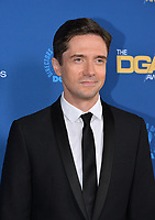 LOS ANGELES, CA. February 02, 2019: Topher Grace at the 71st Annual Directors Guild of America Awards at the Ray Dolby Ballroom.<br /> Picture: Paul Smith/Featureflash