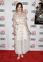 HOLLYWOOD, CA - NOVEMBER 09: Actor Lucy Faust attends the screening of Netflix's 'Mudbound' at the Opening Night Gala of AFI FEST 2017 presented by Audi at TCL Chinese Theatre on November 9, 2017 in Hollywood, California.<br /> CAP/ROT<br /> &copy;ROT/Capital Pictures