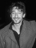 #AdrienBrody 1986<br /> Photo By Adam Scull/PHOTOlink.net