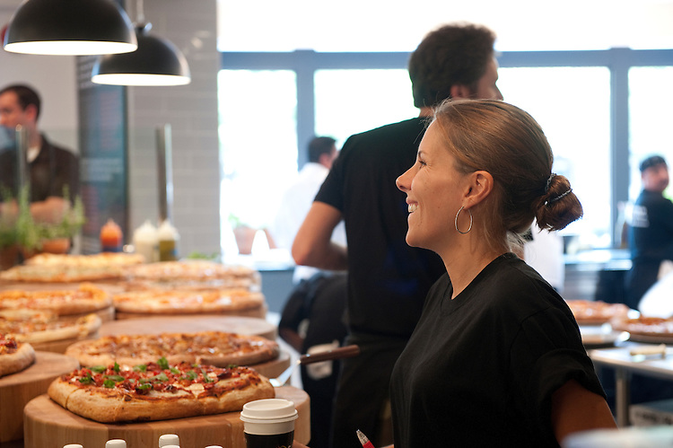 "UNITED STATES - JULY 29: "" We the Pizza"" at 303 Pennsylvania Avenue Southeast Washington, D.C. July 29, 2010. The owner is Spike Mendelsohn, former Top Chef contestant and owner of Good Stuff Eatery next door..(Photo By Douglas Graham/Roll Call via Getty Images)"