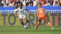 DECINES-CHARPIEU, FRANCE - JULY 07: USWNT wall  during the 2019 FIFA Women's World Cup France Final match between Netherlands and the United States at Groupama Stadium on July 07, 2019 in Decines-Charpieu, France.