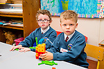 First day of school for Gearoid Corcoran and Alex O'Flahherty   at Scoil Eoin Balloonagh on Thursday
