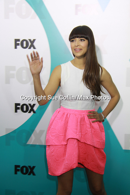 """Hannah Simone """"Cece"""" New Girl at The Fox 2012 Programming Presentation on May 14, 2012 at Wollman Rink, Central Park, New York City, New York. (Photo by Sue Coflin/Max Photos) 917-647-8403"""