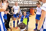 Almere - Zaalhockey Kampong-Push .  Steven van Tijn (Kampong) .  COPYRIGHT KOEN SUYK