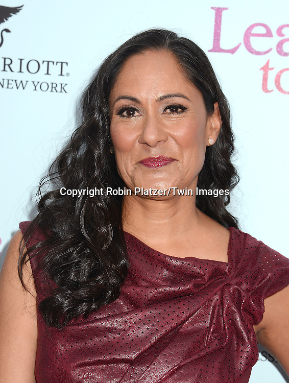 Sakina Jaffrey attends the NewYork VIP Premiere of &quot;Learning to Drive&quot;<br /> on August 17, 2015 at The Paris Theatre in New York City, New York, USA. <br /> <br /> photo by Robin Platzer/Twin Images<br />  <br /> phone number 212-935-0770