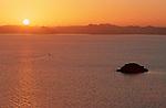Départ à l'aube pour naviguer dans la belle lumière du matin.
