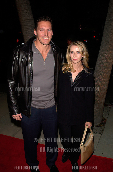 Actor RALPH MOELLER & wife at the Los Angeles premiere of Proof of Life..04DEC2000. © Paul Smith / Featureflash