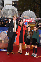 "Simon Farnaby arriving for the ""Paddington"" world premiere at the Odeon Leicester Square, London. 23/11/2014 Picture by: Steve Vas / Featureflash"