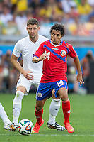 Randall Brenes of Costa Rica and Gary Cahill of England