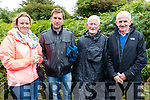 Deirdre and Robert Brosnan, Lispole, Breandan Ó Cíobháin, Ceann Tra, Micheál Ó Móráin, Balyreaocht  Oration at Tionól Mhic Easmainn, McKenna's Fort, Ardfert on Sunday