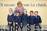 Knockanure NS Juniors : Sophia Papp, Hazel Barrett, Grace Barrett, Chloe Kennelly & Blathnaid Keane . Teacher Mrs Kiely and missing from Photo is Chloe Walsh.