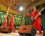Fremont Street Experience  Garage Boys Perform