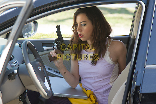 Aubrey Plaza<br /> in Ned Rifle (2014) <br /> *Filmstill - Editorial Use Only*<br /> CAP/NFS<br /> Image supplied by Capital Pictures