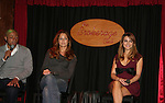 J.R. Martinez - Jamie Luner - Chrishell Stause came to see fans on November 22, 2009 at the Brokerage Comedy Club & Vaudeville Cafe, Bellmore, NY for a Q & A, autographs and photos. (Photo by Sue Coflin/Max Photos)