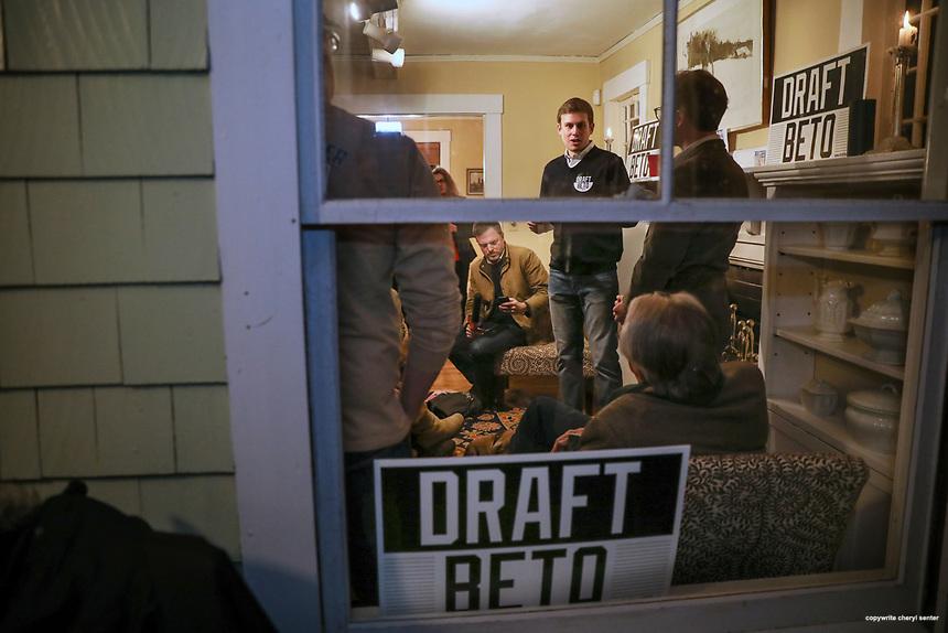2019 Beto house party