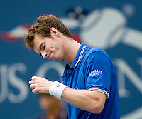 Andy Murray (GBR) (2) against Marin Cilic (CRO) (16) in the fourth round. Cilic beat Murray 7-5 6-2 6-2..International Tennis - US Open - Day 9 Tue 08  Sep 2009 - USTA Billie Jean King National Tennis Center - Flushing - New York - USA..© Frey Images - Barry House, 20-22 Worple Road, London, SW19 4DH.Tel - +44 208 947 0100.Cell - +4 7843 383 012.Email - mfrey@advantagemedianet.com