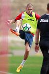 Getafe CF's Carlos Calderon during training session. August 1,2017.(ALTERPHOTOS/Acero)