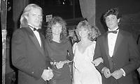 Alexander Godunov, Jacqueline Bisset, Olivia Newton-John and husband