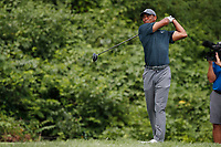 Tiger Woods (USA) tees off on the 8th hole during the 1st round of the 100th PGA Championship at Bellerive Country Club, St. Louis, Missouri, USA. 8/9/2018.<br /> Picture: Golffile.ie | Brian Spurlock<br /> <br /> All photo usage must carry mandatory copyright credit (© Golffile | Brian Spurlock)