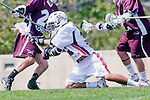 Los Angeles, CA 03/20/10 - \L28\ and Mike Hook (Arizona # 2) in action during the Arizona-Loyola Marymount University MCLA game at Leavey Field (LMU).  LMU defeated Arizona 13-6.