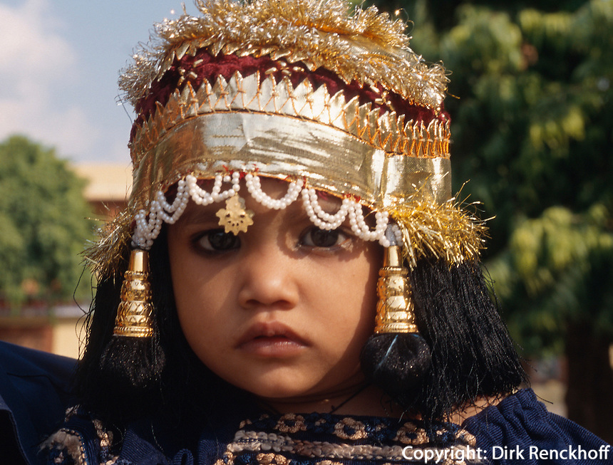 Kind im City-Palast, Jaipur, Rajasthan, Indien