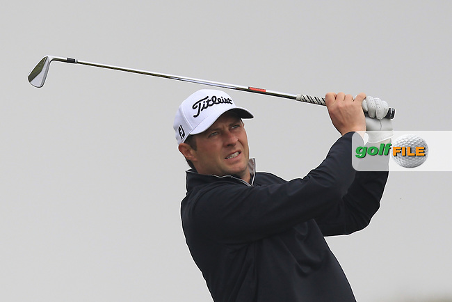 Robert Cannon (Balbriggan) on the 4th tee during Round 3 of the Flogas Irish Amateur Open Championship at Royal Dublin on Saturday 7th May 2016.<br /> Picture:  Thos Caffrey / www.golffile.ie