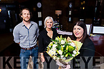 Pauline Porter awarded (Best Regional Munster Receptionist 2017), John O'Sullivan and Orlagh Winters (Operations Manager), pictured at Benners Hotel, Tralee on Thursday, March 30th last.