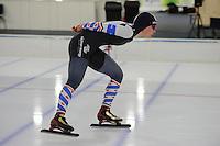 SCHAATSEN: HEERENVEEN: 04-02-2017, KPN NK Junioren, Junioren A Dames 3000m, Helga Drost, ©foto Martin de Jong