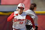 MADISON, WI - APRIL 16: Letty Olivarez #12 of the Wisconsin Badgers softball team against the Indiana Hoosiers at Goodman Diamond on April 16, 2007 in Madison, Wisconsin. (Photo by David Stluka)