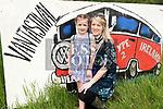 Barbara and Lilah Rooney at Vantastival Festival. Photo:Colin Bell/pressphotos.ie
