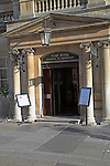 Pump Room entrance, Bath, England