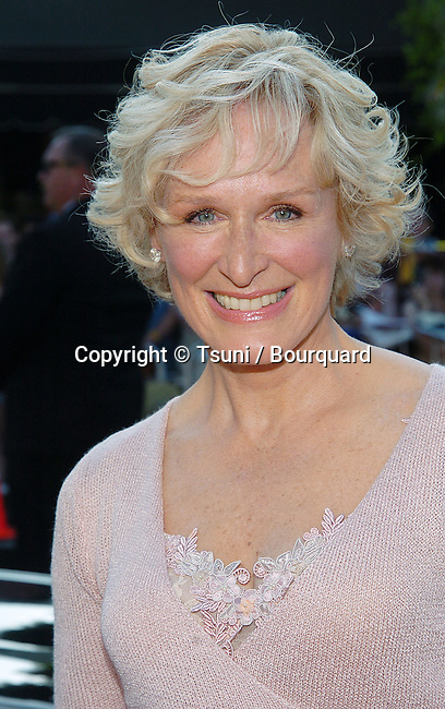 Glenn Close arriving at the Stepford Wives Premiere at the Bruin Theatre in Los Angeles. June 6, 2004.