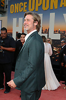 """LOS ANGELES - JUL 22:  Brad Pitt at the """"Once Upon a Time in Hollywood"""" Premiere at the TCL Chinese Theater IMAX on July 22, 2019 in Los Angeles, CA"""