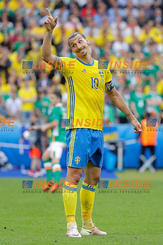 Zlatan Ibrahimovic (SWE)<br /> Paris 13-06-2016 Stade de France Football Euro2016 Ireland - Sweden / Irlanda - Svezia Group Stage Group E. Foto Stephane Allaman Panoramic / Insidefoto