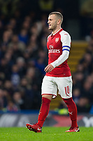 Arsenal's Jack Wilshere <br /> <br /> Photographer Craig Mercer/CameraSport<br /> <br /> The Carabao Cup - Semi-Final 1st Leg - Chelsea v Arsenal - Wednesday 10th January 2018 - Stamford Bridge - London<br />  <br /> World Copyright &copy; 2018 CameraSport. All rights reserved. 43 Linden Ave. Countesthorpe. Leicester. England. LE8 5PG - Tel: +44 (0) 116 277 4147 - admin@camerasport.com - www.camerasport.com