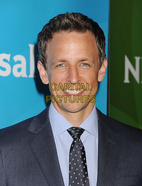 BEVERLY HILLS, CA- JULY 13: Actor/comedian Seth Meyers attends the 2014 Television Critics Association Summer Press Tour - NBCUniversal - Day 1 held at the Beverly Hilton Hotel on July 13, 2014 in Beverly Hills, California.<br /> CAP/ROT/TM<br /> &copy;Tony Michaels/Roth Stock/Capital Pictures
