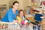 Receptionist Helen Lyons and quality.officer Lorraine Bowler at North Kerry.Together offices in Listowel.