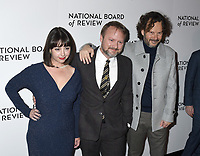 08 January 2020 - New York, New York - Karina Longworth, Rian Johnson and guest at the National Board of Review Annual Awards Gala, held at Cipriani 42nd Street. Photo Credit: LJ Fotos/AdMedia