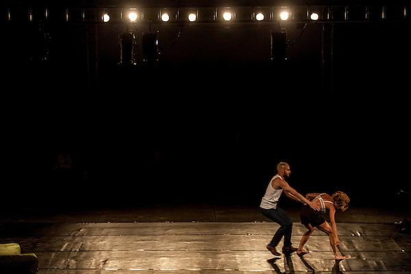Sete Lagoas_MG, Brasil.<br /> <br /> Apresentacao no Casarao Nhoquim Drummond da bailarina Aretha Maciel.<br /> <br /> Presentation in Casarao Nhoquim Drummond of the ballet dancer Aretha Maciel.<br /> <br /> Foto: LEO DRUMOND / NITRO