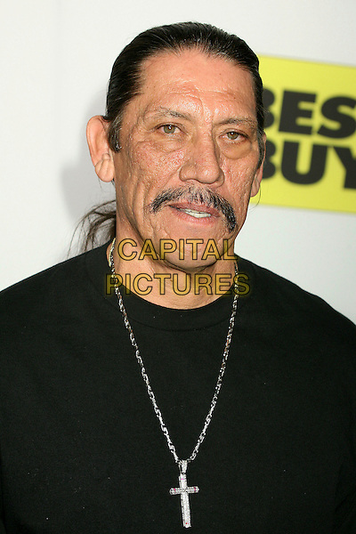 DANNY TREJO.Best Buy's Playstation 3 Launch Celebration and Block Party at Best Buy West Hollywood, West Hollywood, California, USA,16 November 2006..portrait headshot  beard moustache silver cross necklace.CAP/ADM/BP.©Byron Purvis/AdMedia/Capital Pictures.
