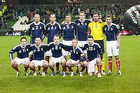 Scotland v Northern Ireland Carling Nations Cup 090211