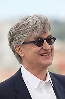 Wim Wenders at the photocall for 'Pope Francis - A Man Of His Word' during the 71st annual Cannes Film Festival at Palais des Festivals on May 13, 2018 in Cannes, France.<br /> CAP/GOL<br /> &copy;GOL/Capital Pictures